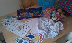 Nom Monsters: Aliens Love Underpants - Home Made Story Sack