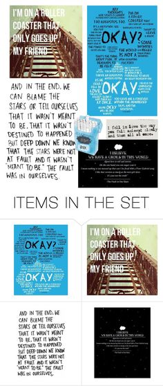 """""""The Fault in our Stars Aesthetic"""" by a-random-fandom ❤ liked on Polyvore featuring art"""