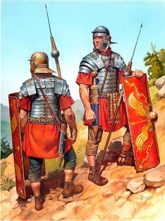 Roman legionaries, 1st cent. CE