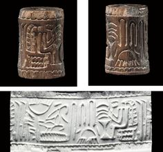 Egyptian Variation of a Mesopotamian Cylinder Seal http://www.arabian-archaeology.com/mythslinks.htm  http://ucfant3145f09-08.wikispaces.com/Justin+C%27s+Section