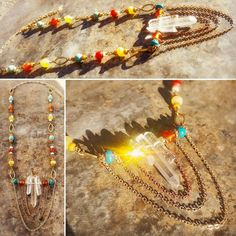 Hey, I found this really awesome Etsy listing at https://www.etsy.com/listing/490547130/colorful-bohemian-style-necklace-w-raw