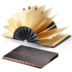This is awesome. This rolodex slash fan slash folder thingamajig is a perfect way to bind and collect postcards. Altered Books, Altered Art, Mini Albums, Book Crafts, Paper Crafts, Accordion Book, Rolodex, Book Journal, Journals