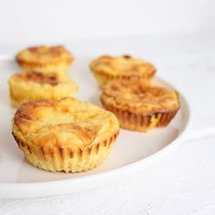Fluffige Pancakes aus dem Ofen. Eine gesunde Alternative fürs Sonntagfsrühstück. Diese Pancakes kommen auch komplett ohne Zucker aus.