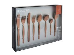 Eetrite is in the business of making every meal special. Their range of cookware and serveware is made to encourage the sharing of meals and memories with other Rose Gold Cutlery, Cutlery Set, Serveware, Coffee Shop, Goals, Kitchen, Coffee Shops, Coffeehouse, Cooking