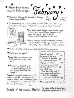 Art Journal Prompts List | Found on thistledewblog.com