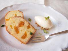 アプリコットのケイク cake aux abricots