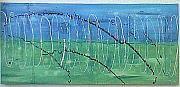 Anton Alberts Art studio and Canvas Factory - Art Framed Prints, Canvas Prints, Blue Green, Studio, Abstract, Gallery, Artist, Artwork, Poster