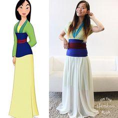 Mulan Halloween costume