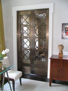 Bronze & Glass Interior Doors; Bathroom and Kitchen Detailing by Jaroff Design & Mison Concepts, via Flickr
