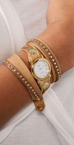 Studded Wrap Watch <3