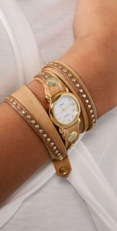 Studded Wrap Watch <3