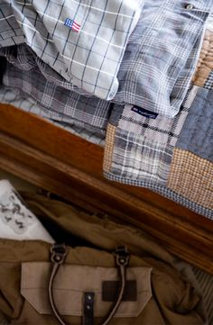 Details of our beautiful gray bedding for fall.