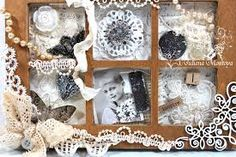 Image result for shabby chic shadow box