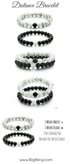 697637add Distance Bracelets are perfect gift idea for long distance relationship  lovers this valentines day! #