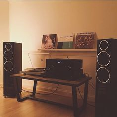 """341 Likes, 9 Comments - Yamaha Home Audio (@yamahahomeaudio) on Instagram: """"If your music room looks as relaxing like this, why would you want to ever leave? :…"""""""