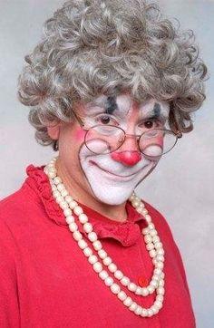 Barry Lubin as Grandma in the Big Apple Circus....I hear its Grandma's Farewell tour! : (