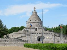 The Mausoleum of the Heroes at Marasesti, Romania, marks the site of a fierce battle between German and Romanian armies in At great cost the Romanian side prevailed. Moldova, Armies, Tower Bridge, Romania, Battle, German, Travel, Deutsch, Viajes