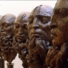 #javiermarinescultor, #javiermarin, #terrenobaldioarte, #escultura, #sculpture, #art, #arte, #bronce, #bronze, #cabeza, #head, #hombre, #man, #siete, #seven, #figurahumana, #humanform, #artecontemporanea, #contemporaryart, #esculturacontemporanea