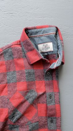 9350703b Flannel from Flag and Anthem Co. #menswear #flannel #mensflannel Mens  Flannel,