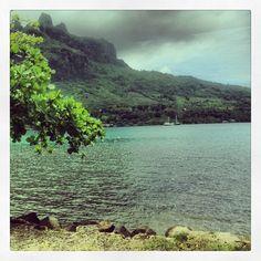 Moorea à Îles du Vent, Îles de la Société