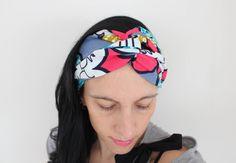 Headband fleurs, accessoire cheveux, accessoire cheveux femme, headband turban ethnique, bandeau pagne africain, accessoire été, turban de la boutique Underthecocotiers sur Etsy