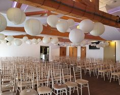 Wedding decor finished for a stunning ceremony. Wedding Events, Wedding Decorations, Chandelier, Sparkle, Ceiling Lights, Chair, Home Decor, Fiestas, Recliner