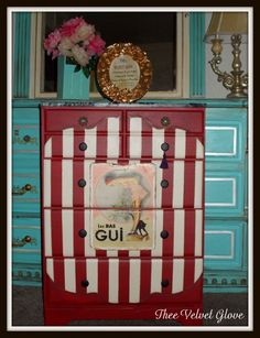 A Sophisticated, Sassy & Soulful Collection of Re-Furbished, Hand-Painted Furniture & Home Décor.