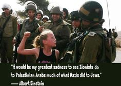 Zionists doing to Palestinians what the Nazis Did to the Jews