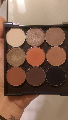 Makeup Geek dupes for Kylie palette  Comparable Makeup Geek eyeshadows Top row, from left: Vanilla Bean, Homecoming, Barcelona Beach Middle row, from left: Pretentious, Morocco, Frappe Bottom row, from left: Cocoa Bear, Americano, Corrupt  Makeup Geek Chickadee is a good alternative if you prefer a softer orange :)