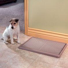 Indoor Dog Potty - Improvements - http://www.thepuppy.org/indoor-dog-potty-improvements/