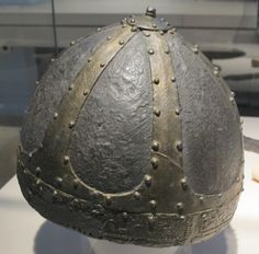 Migration period spangenhelm from the Germanisches Nationalmuseum