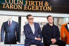 "#ColinFirth and #TaronEgerton interview at ""Today"" for #KingsmanTheGoldenCircle - 12 September 2017 (GettyIMages)"