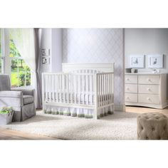 The Layla 4-in-1 Crib from Delta Children is an attractive, well-made, one time investment that will effortlessly stand the test of time.