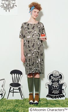 Moomin characters one piece. Mori Girl Fashion, Geek Fashion, Kawaii Fashion, Daily Fashion, Forest Girl, Style Inspiration, Style Ideas, Colorful Fashion, Dream Dress