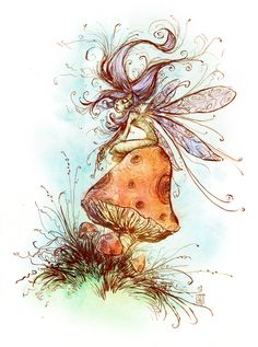 Fairy Daily sketch by skottieyoung