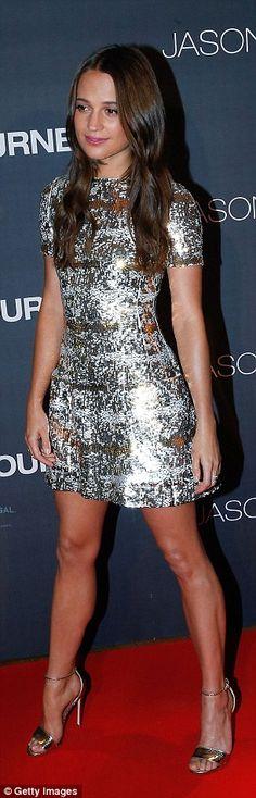 Alicia Vikander steals the show at Paris premiere of Jason Bourne