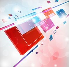 Free Vector Abstract Square Colorful Background