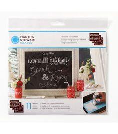 Martha Stewart Crafts � Chalkboard Silkscreens - Phrases