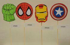Iron Man / Avengers Super Heroes Souvenirs En Goma Eva - $ 24,00 en Mercado Libre Superhero Logo Templates, Superhero Logos, Iron Man Avengers, Hulk, Art, Ideas, Parties Kids, Diy General, Jelly Beans