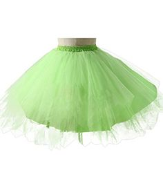 Wedtrend Women's Mini Tutu Ballet Bubble Tutu with Multi-layer Frilly Petticoat Mint S-M Wedtrend http://www.amazon.com/dp/B00W9GPX1E/ref=cm_sw_r_pi_dp_uwgYvb01H0RB3
