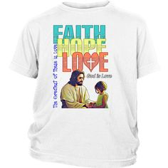 """District Youth-Faith Hope Love--Click link to see """"SIZING CHART"""" ---> https://cdn.shopify.com/s/files/1/1474/7084/files/Tee_Apparel_Sizing_Chart.pdf?8220756522297941279"""