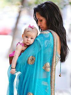 Krishna Dell, daughter of Padma Lakshmi and Adam Dell