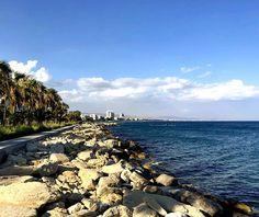 Бархатный сезон на Кипре продолжается!  Остров Афродиты осенью прекрасен!  #Cyprus #Cyprus2019 #cyprusisland #Limassol #autumn #relaxtime #beach #molos #sea #sky  #бархатныйсезоннакипре Cyprus News, World, Beach, Water, Outdoor, Gripe Water, Outdoors, The Beach, Beaches