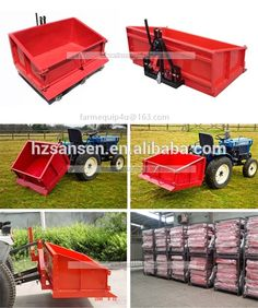 Source TTB120 - Tractor 3-Point Rear Tipping transport box/ Tractor 3point Implements back bucket on m.alibaba.com