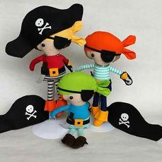 Piratinhas de pano