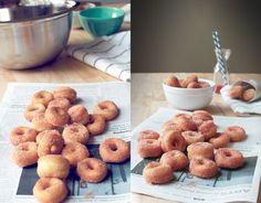 Mini Cinnamon Sugar Doughnuts | The Flourishing Foodie