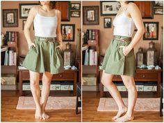 DIY: three dollar skirt