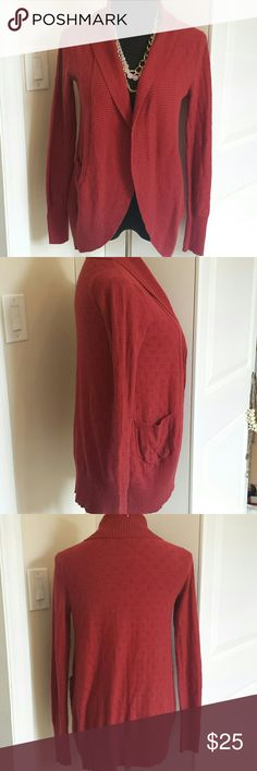 NWOT Urban Outfitters Burgundy Open Front Caridgan Beautiful lightweight cardigan from kimchi blue brand of urban outfitters. Color is perfect for fall. Rock with leggings or skinny jeans and a statement scarf! Feel free to make offers! Urban Outfitters Sweaters Cardigans