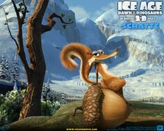 Scratte the saber toothed squirrel - Ice Age 3