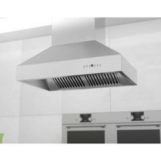 ZLINE 42 in. 900 CFM Island Mount Range Hood in Stainless Steel 597i-42 at The Home Depot - Mobile